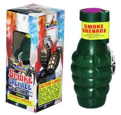 3 Color Changing Smoke Grenade (Pull String) - Wacky